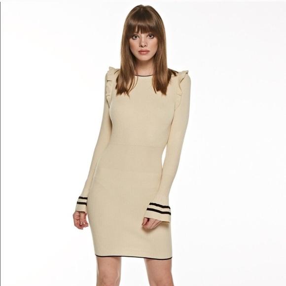 Dresses & Skirts - Classic Ruffle Sweater Dress